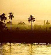 El atardercer en Egipto