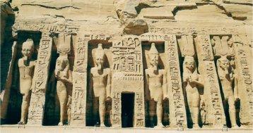 Templo de Nefertari en Abu Simbel, 1300-1225 a.C.