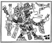El dios Quetzalcóatl