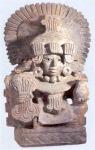 Urna del dios Cocijo, Museo Friselli