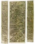 Tablillas con escritura zapoteca de Oaxaca, México