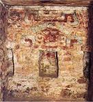 Mural de la Tumba 104 de Monte Albán, Oaxaca, México