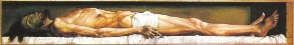 El cuerpo de Cristo muerto en la tumba, de Hans Holbein, el Joven