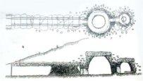 Plano del dolmen del Romeral