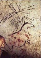 Yegua preñada, Cueva de la Pileta