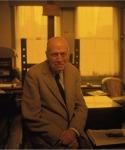 LOENGARD, John, Edward Hopper Sitting on Stool in His Studio