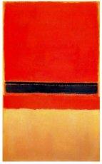 Mark Rothko, 'Sin título' (1954). 230 x 139 cm.