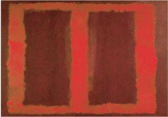 Mark Rothko, 'Sin título' (1958). 267 x 378 cm. (Uno de los 'murales Seagram').
