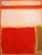 Mark Rothko, Amarillo y naranja', 1949, 140 x 109 cm.